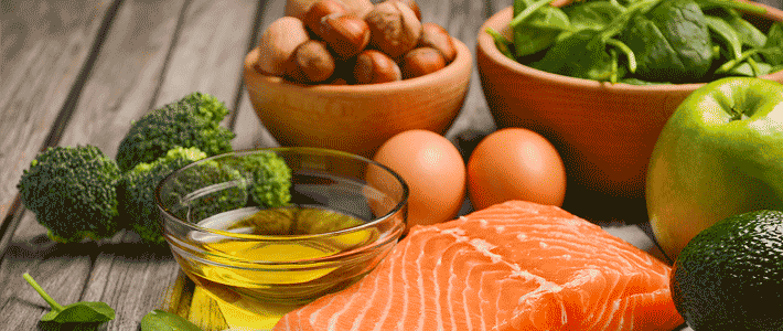 Eat a balanced diet to ward of illnesses!
