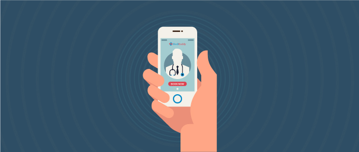 Medical consultations via chat, phone and video.