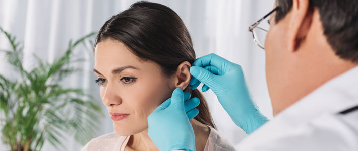Consult a doctor for ear infection