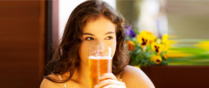 Risks associated with regular drinking for women