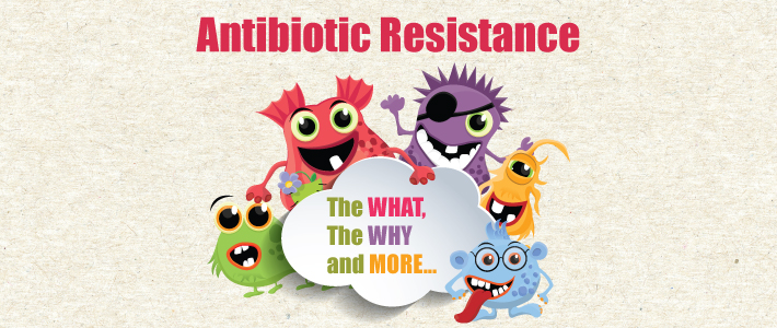 Antibiotic resistance- A wall that needs to be broken down!