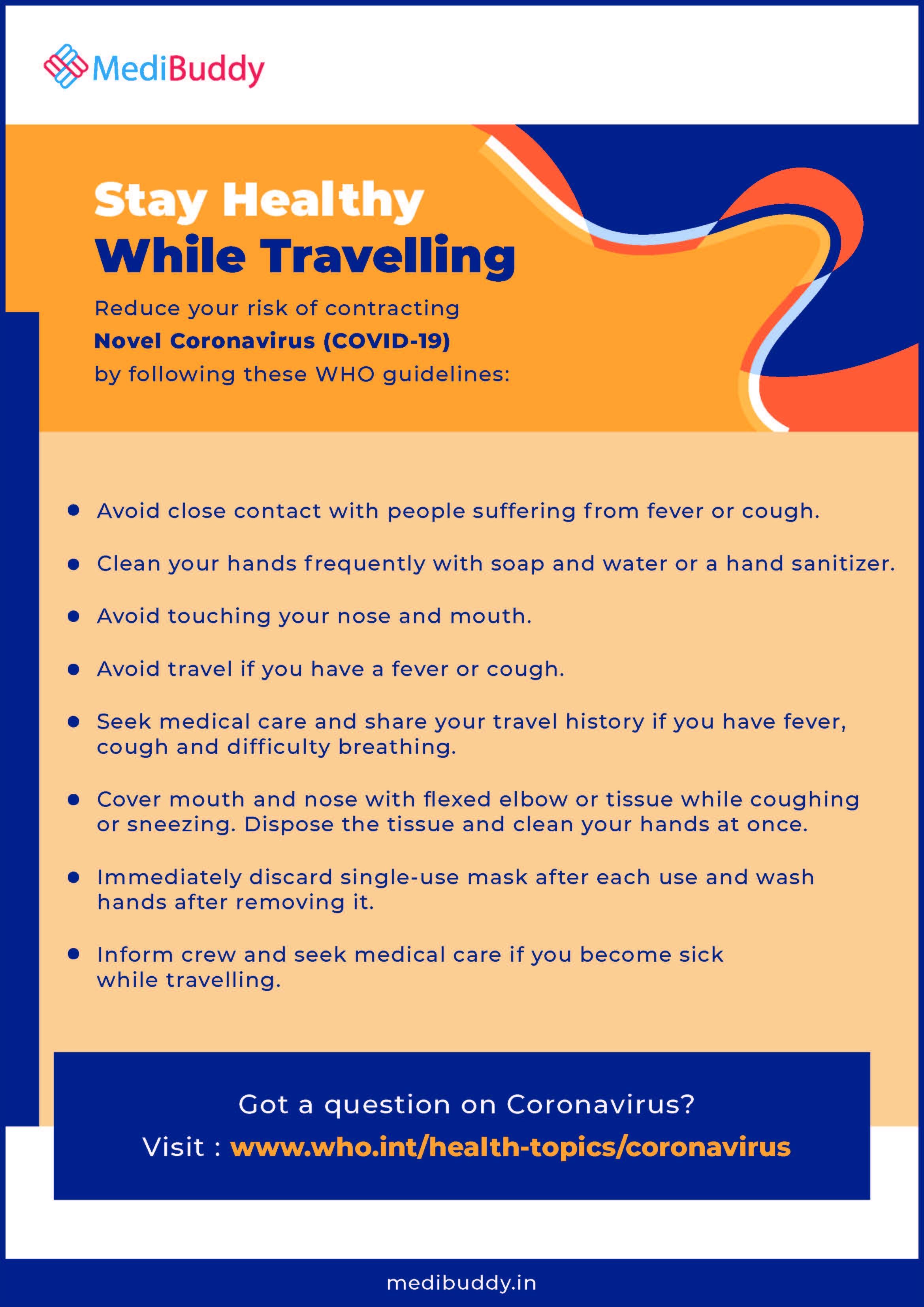Coronavirus: Travel Advisory