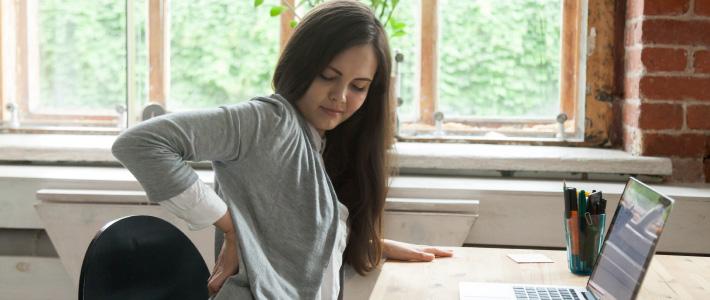 backpain in working women